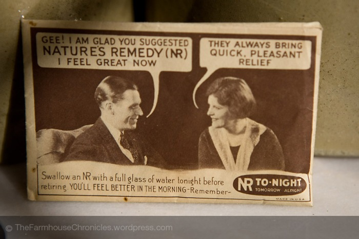antique nature's remedy package