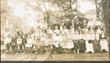 Rondeau picnic Methodist SS 1900s