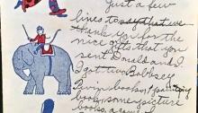 1926 child's letter