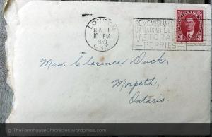 1939 envelope